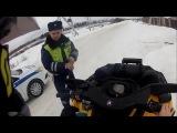 ПОГОНИ ДПС #4   car chase police COMPILATION #4