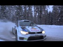 WRC 2013: Round 2 Rally Sweden Slow Motion