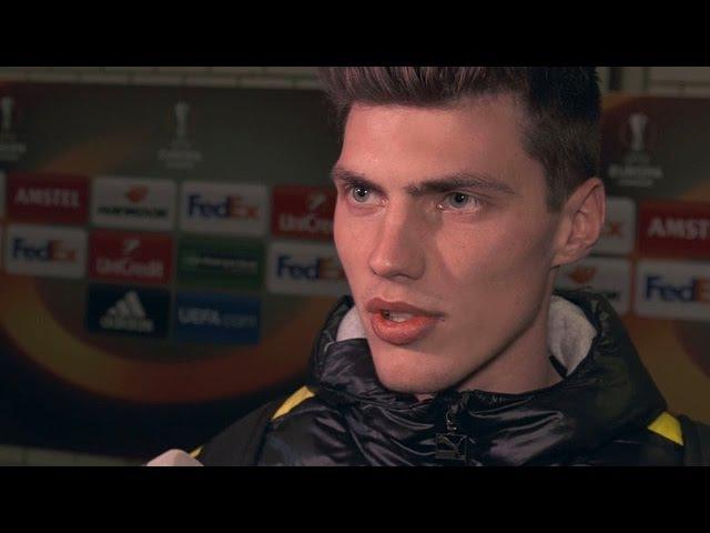 Pascal Stenzel: Freude und Enttäuschung   BVB - PAOK Saloniki 0:1