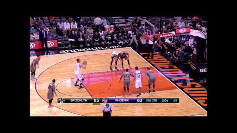 Alex Len 13pts6reb (Brooklyn Nets vs. Phoenix Suns 20160225)