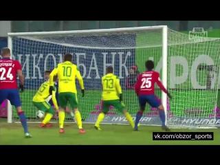 ЦСКА - Кубань 1:0 (Гол Муса)