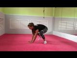 Упражнение Муравей с вариациями от сложной к легкой