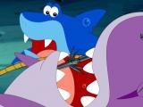Мультфильм Гавань Ракушек 1 сезон 12 серия - Раненая акула с