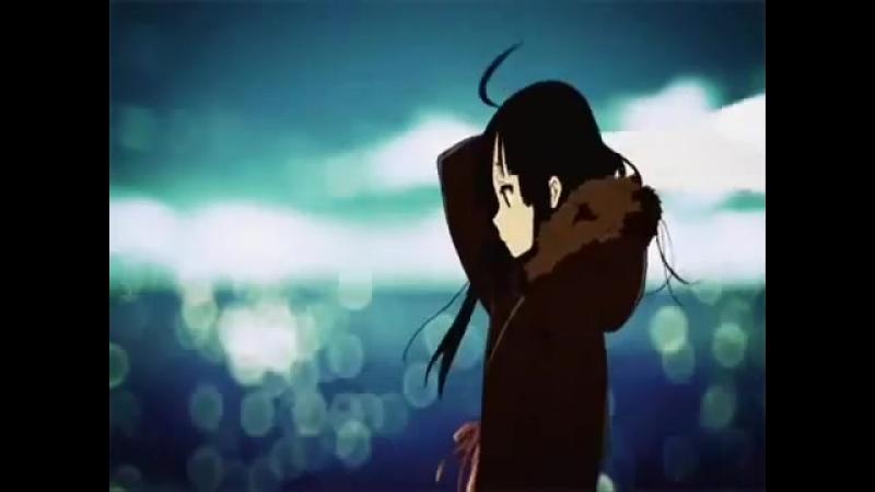АМВ. Аниме клип романтика,грусть.Он был ангелом её , а она не видела