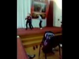 Танец в присутсвие Данила Колядина