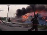 Пожар на Обской Лабытнанги 16 июля 2016