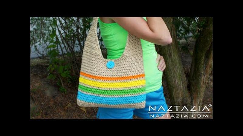 DIY Learn How to Make Crochet Easy Beginner Tote Bag Handbag Purse Summer Pattern