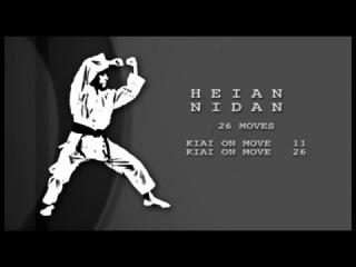 Heian Nidan - Important Points and Bunkai - Karin Prinsloo - Shotokan Kata