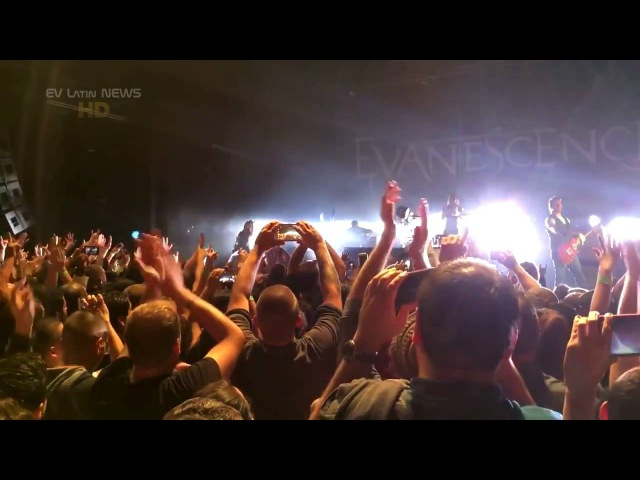 Evanescence Erase this 2016 Official Live Video