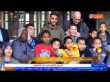 Riyad Mahrez visiter le Village des Enfants S.O.S en Alg