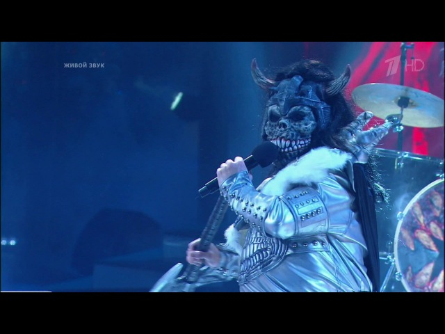 Члены жюри. Lordi – «Hard Rock Hallelujah». Точь‑в‑точь. Фрагмент выпуска от 01.01.2016