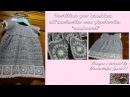 Vestitino per bambina all'uncinetto con piastrelle sunburst tutorial parte 1