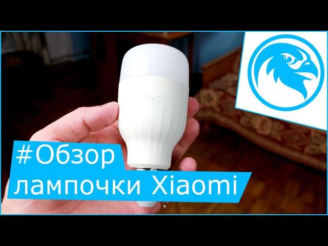 Обзор умной лампочки Xiaomi Yeelight от StarSokol.com.ua