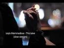 Leyla Mammadova This Love
