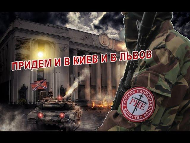 Добровольческие отряды РНЕ в Новороссии