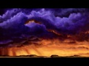 Painting Epic Stormy Sunset Clouds - I Was Here Before You - Time lapse speed painting