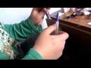 Как сделать бомбу из спичек+самодельный порох !