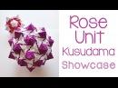 Rose Unit Kusudama Showcase
