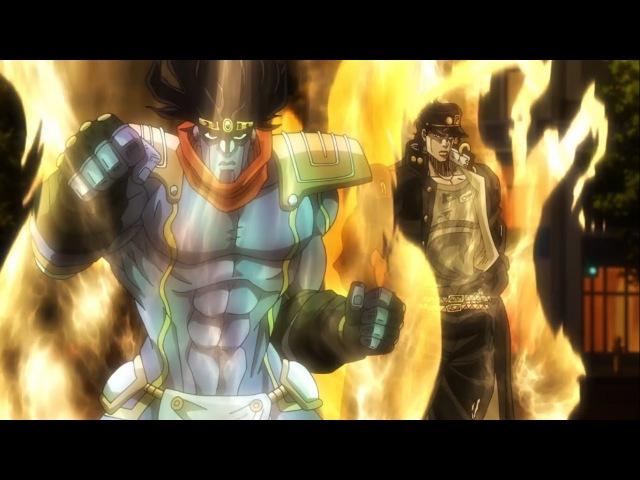 Jotaro vs Dio AMV - JoJos Bizarre Adventure ジョジョの奇妙な冒険