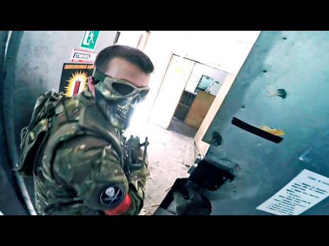 СТРАЙКБОЛ [ШТУРМ] AIRSOFT GAMES GAMEPLAY [КВАНТ КСЦ]