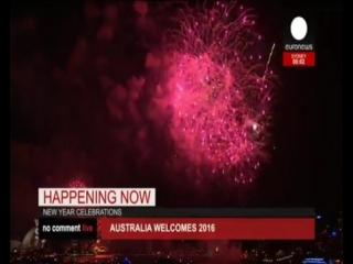 Новогодний салют в Сиднее 2016 (Австралия)