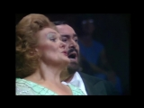 Академия вокала. www.eventonlyyou.ru Dame Joan Sutherland and Luciano Pavarotti - Parigi, o cara Verdis La traviata.720