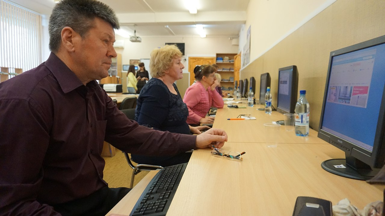 В Гусеве проведут I этап чемпионата по компьютерному многоборью среди пенсионеров
