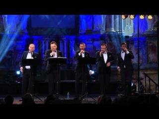 Quorum sings a cappella Im Hashem lo Yivneh Bayis by Shlomo Yehuda Rehnitz