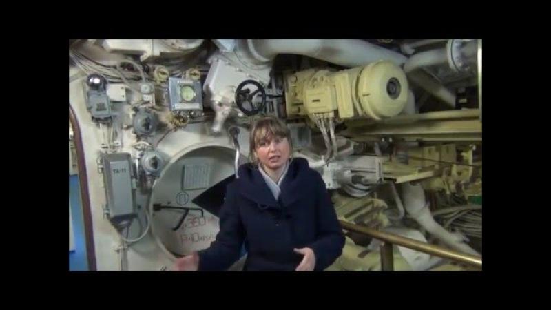 Поход в музей подводных лодок в Тушино 8 апреля 2012