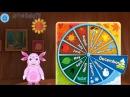Лунтик Учим Английский язык - Месяца года Развивающий Мультик Игра для детей Like B...
