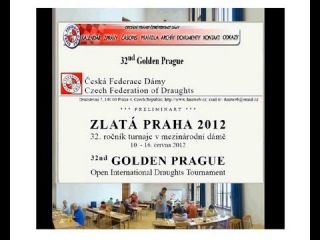 Draughts : Golden Prague 2012 selectie of 42 games