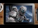 ИГРЫ НА WINDOWS ПЛАНШЕТЕ / Halo: Spartan assault  / on tablet pc game playing test gameplayy