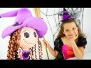 Маленькая ведьма Кати становится балериной Видео для девочек Игры для детей