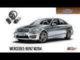 Mercedes-Benz W204 C180 - тест-драйв, обзор, AMG обвес City Car Driving 1.5.1