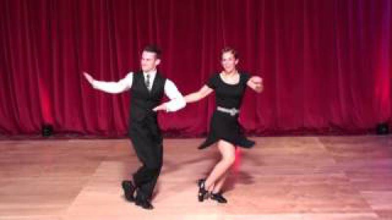 ESDC 2015 - Advanced Lindy Hop Classic Showcase - Finals - William Mauvais Maeva Truntzer