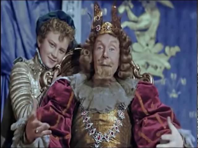 И никакие связи не помогут тебе Мудрая речь короля Фрагмент сказки Золушка