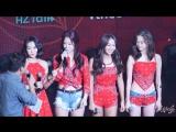 """160621 씨스타(SISTAR) Greatings [SISTAR THE 4th MINI ALBUM """"沒我愛(몰아애)"""" MEDIA SHOWCASE 직캠 by 니키식스"""