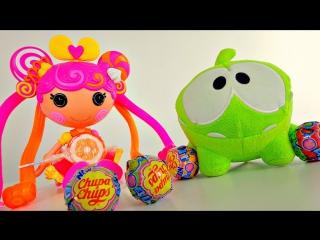 Видео для детей. Кукла Лаллупси Сластёна и  Ам Ням. Сладкие приключения игрушек.