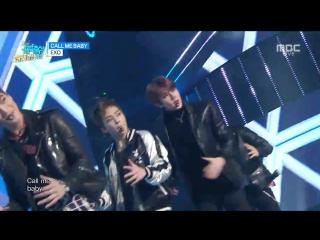 151226 MBC Music Core @ EXO - Call me Baby