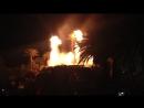 Извержение вулкана перед отелем The Mirage в Лас-Вегасе