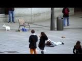 Криштиану Роналду устроил пранк в центре Мадрида, а люди его даже не узнали (