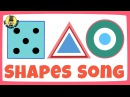 Shapes song for kids | The Singing Walrus