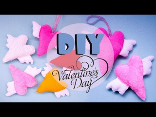 ПУШИСТАЯ ВАЛЕНТИНКА ♥ Valentine's Day! ♥DIY♥TinkerDIY