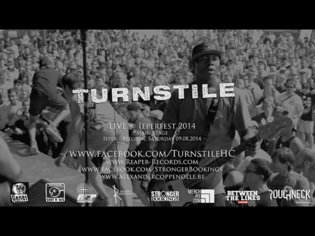 Turnstile Live @ Ieperfest 2014 (HD)