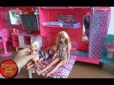 Игрушки Барби, в сериале  Barbie  Life in The Dreamhouse Camper серия 341 Кен установил бассейн