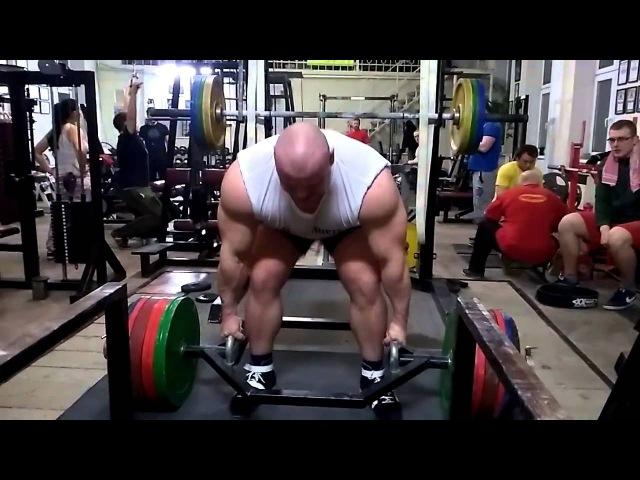 Петр Петраш (Словакия) ,тяга трап - грифа - 420 кг , без лямок !