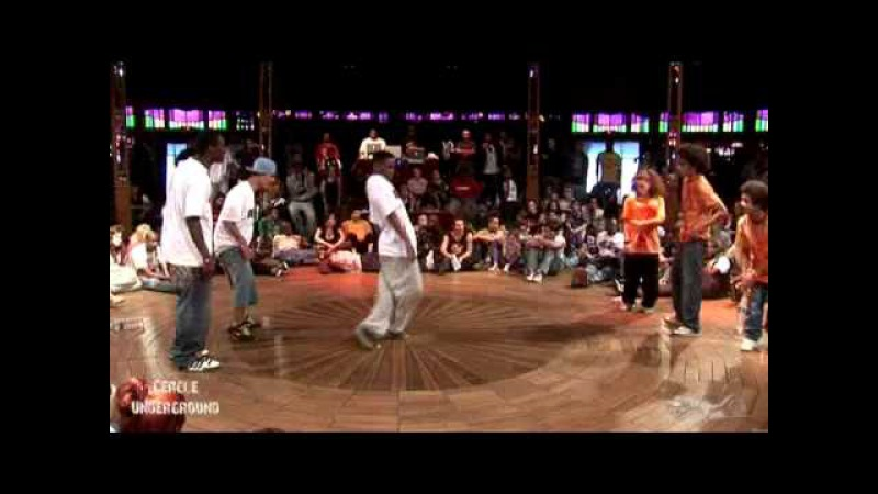 Cercle Underground Hip Hop1/4 final Old Future Vs Undercover 1st part