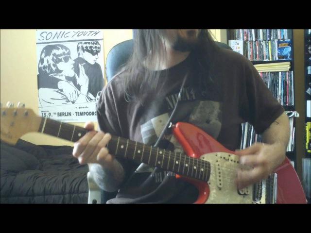 Nirvana Sifting guitar cover full HD