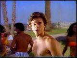 Young Brad Pitt in Pringle's