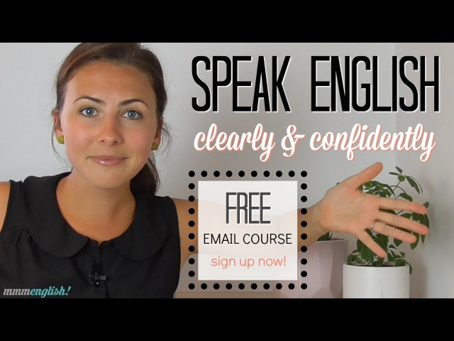 Speak English Clearly Confidently